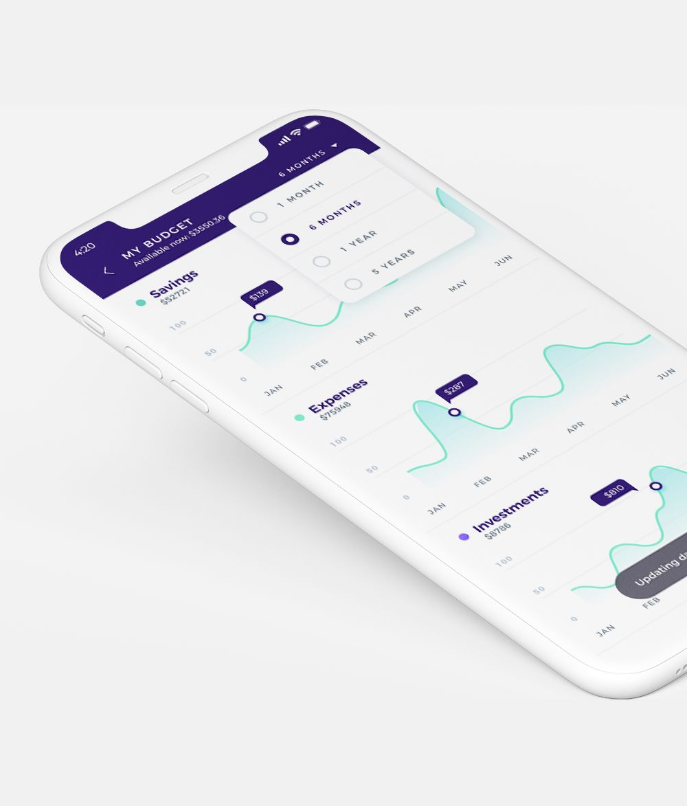 Mobile App Design Services by Unqode