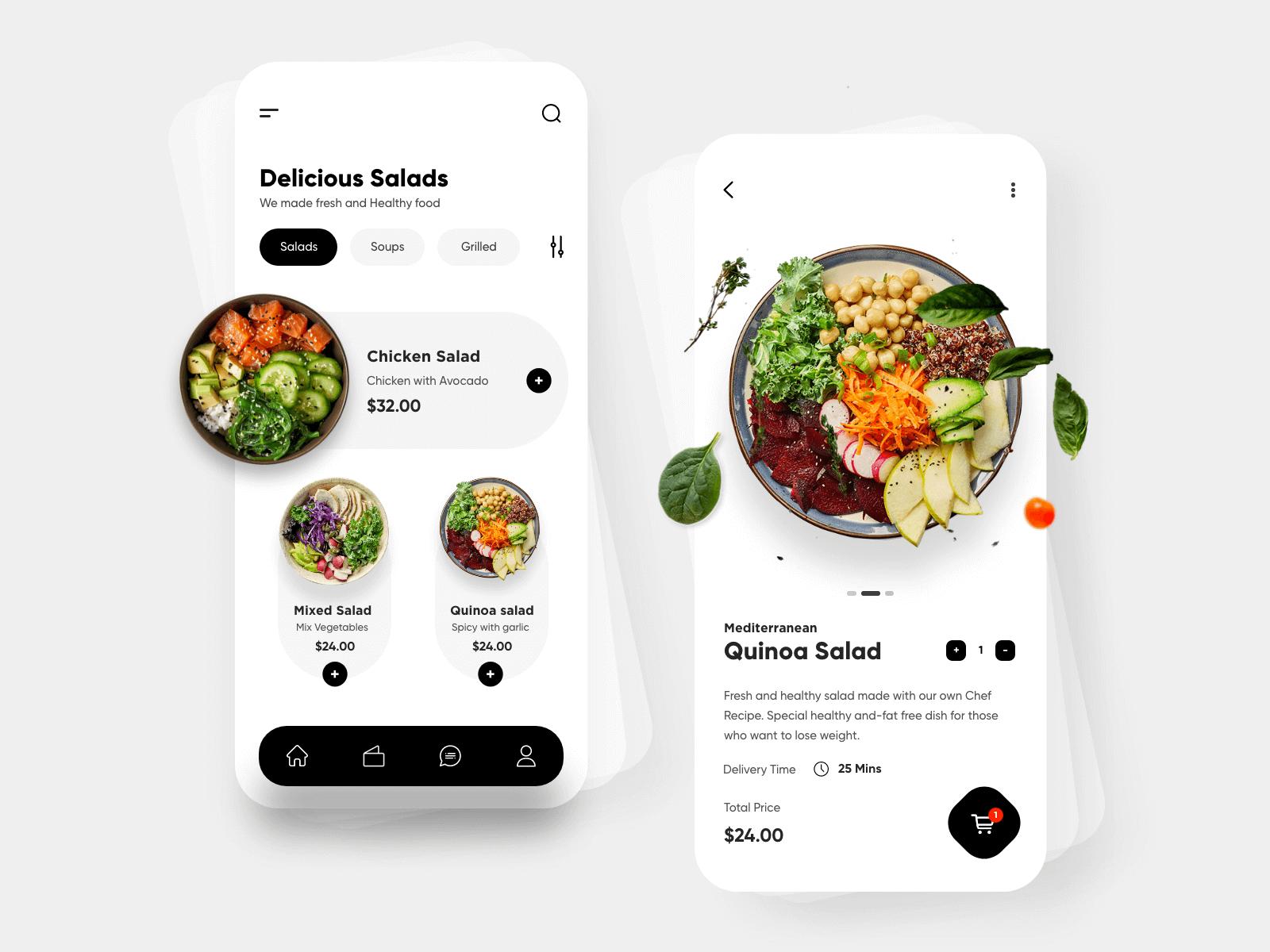 Restaurant food order delivery