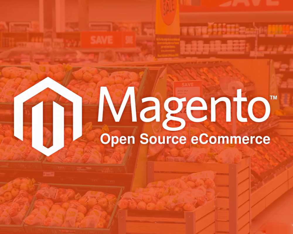 design and developed online store in magento