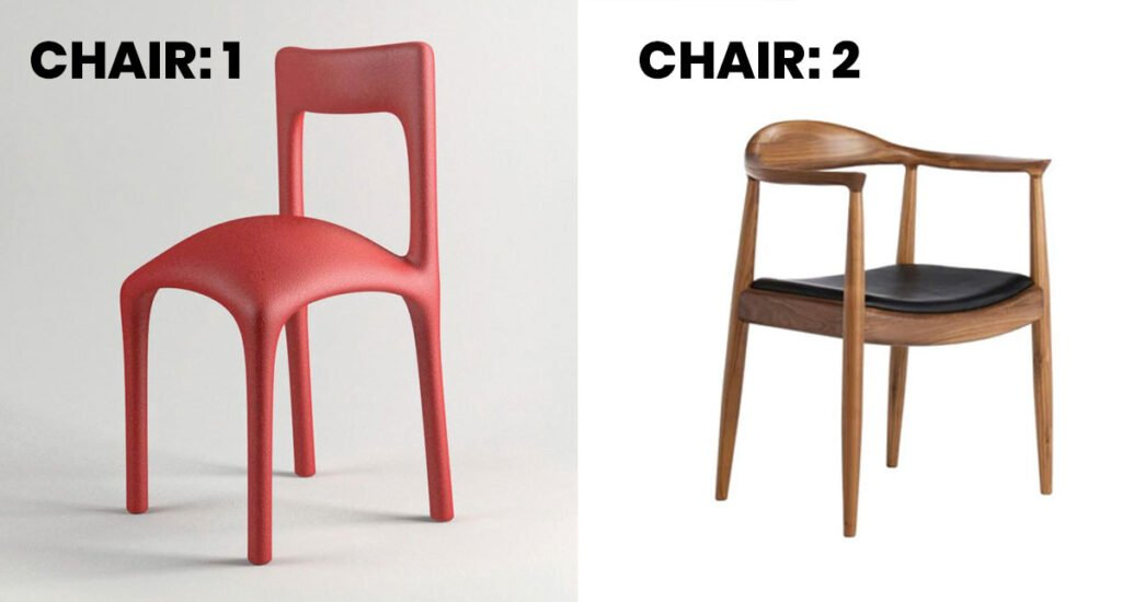 Good UX Example with Chairs